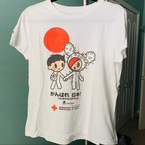 Tokidoki limited edition Japanese Relief Tee XL